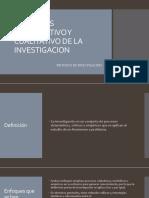 Enfoques Cuantitativo y Cualitativo de La Investigacion