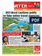 Bikol Reporter March 26 - April 1, 2017 Issue