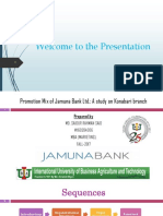 Integrated Marketing Communication of Jamuna Bank Ltd.