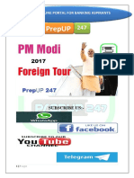 Pm Modi Foreign Visits 2017