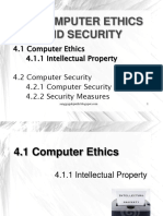 Topic 4 Computer Ethics & Security