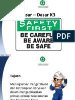 Opening Dasar K3