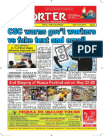Bikol Reporter May 21 - 27, 2017 Issue