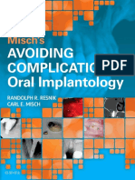 Mischs Avoiding Complications in Oral Implan 2018
