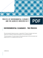 PROCESS OF ENVIRONMENTAL CLERANCE AND THE INVOLVE IN.pptx