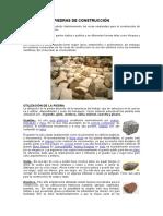 Rocas de Construccion