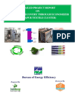 Waste Heat Recovery in Thermic Fluid Heater