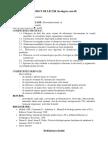 Prioect lectie biologie cls a IX-a