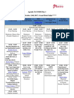 Agenda TeCOMM October 24-25th