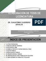Elaboracion de Tesis - GUERRERO DAVALOS