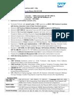 Abdul - SAP CRM TechnicalSAP(ABAP CRM) EXP 9+