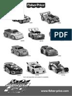 Fisher-Price G5780 Motorized Toy Car User Manual