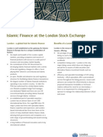 London a Global Hub for Islamic Finance