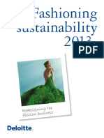 Deloitte Fashioning Sustainability 2013