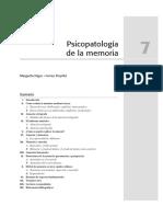 Tema 7. Psicopatología de la memoria