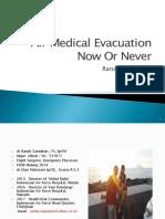 Air Medical Evacuation - Randy Zainubun