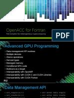 OpenACC Advanced Fixed