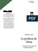 La Profecia de Orion - Patrick Geryl