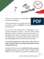 Prova Final FCE Social