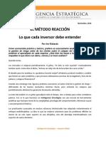 El Método Reacción- Lo Que Cada Inversor Debe Entender (1)