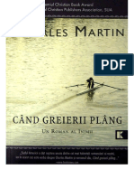 Cand Greierii Plang - Charles Martin