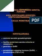 AXUL hipotalamohipofizar feminin. Menstruatia.ppt