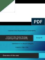 CSR Unilever B5