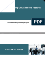 5.Configuring CME Additional Features