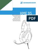 HME 95 Owner Manual