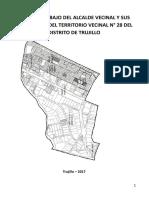 Plan de Trabajo Del Alcalde Vecinal y Sus Secretarios Territorio Vecinal 28