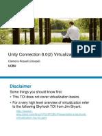 Connection 8.0(2) Virtualization TOI