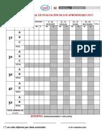 Consolidado Anual de Evaluaciòn de Los Aprendizajes 2017 (1)