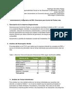 Evaluación de Responsabilidad Social en una Empresa