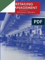W. Stewart Howe  Retailing Management