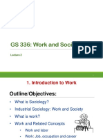 Work and Society 2