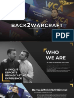 Back2Warcraft - Sponsorship Proposal