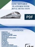 Automatic Movable Railway Platform