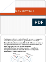 Analiza Spectral