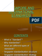 (14) Singapore and International Standards (1)