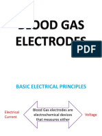 Blood Gas Electrodes