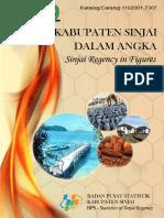 Kabupaten Sinjai Dalam Angka 2016
