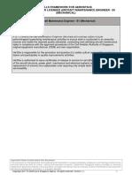 1. SFAeroLICENSEDAIRCRAFTMAINTENANCEENGINEERB1MECHANICAL