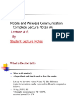 Mobile and Wireless Communication Complete Lecture Notes #6