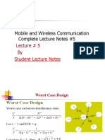 Mobile and Wireless Communication Complete Lecture Notes #5