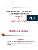 Mobile and Wireless Communication Complete Lecture Notes #9