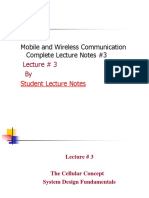 Mobile and Wireless Communication Complete Lecture Notes #3
