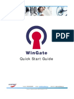 Win Gate Quick Start Guide
