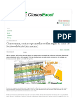 Clases Excel - Cómo Sumar, Contar o Promediar Celdas Según Su Color de Fondo o de Texto (Sin Macros)