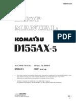 MANUAL DE TRACTOR D155AX-5_S_SEBM016205.pdf
