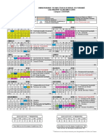 CalendarioResumido UTFPR - CT 2018